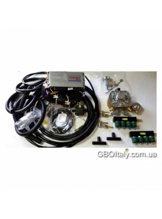 ПОЛНЫЙ Комплект ГБО 4 поколения STAG-300 ISA2 8ц. KME Gold Valtek