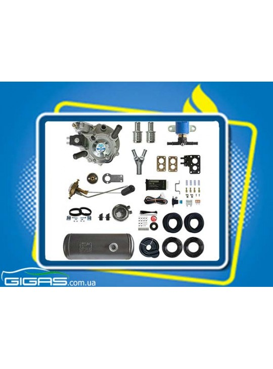 Комплект ГБО 2 карбюратор редуктор Tomasetto, баллон цилиндр 50 л D300*L796 mm