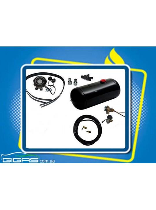 Комплект ГБО 2 инжектор редуктор Tomasetto, баллон цилиндр 50 л D300*L796 mm
