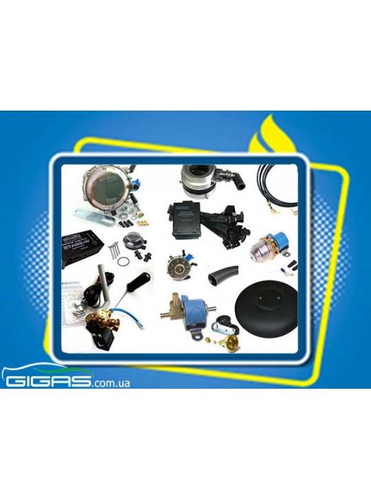 Комплект ГБО 2 инжектор редуктор Tomasetto, баллон тор 43 л H200*D600 mm