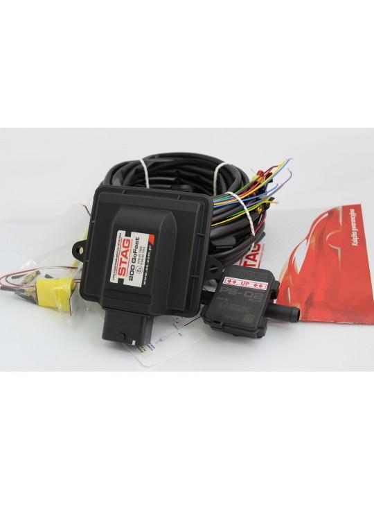 Электроника STAG- 4 GO-FAST 4 цил., разъем тип Valtek, ДТР Фильтр, LED-GoFast