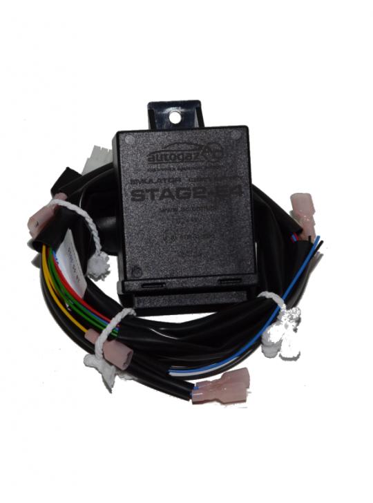 Эмулятор инжектора STAG 2-E4/U, 4 цил., разьем универсальный
