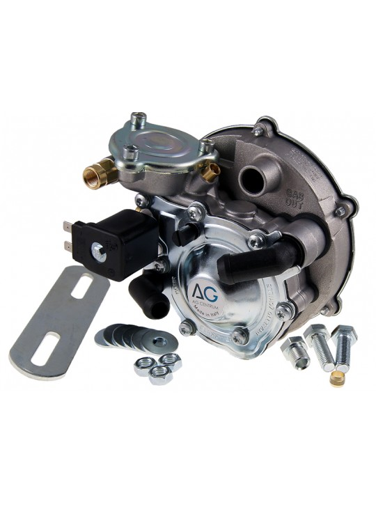 Редуктор Tomasetto АТ07, 100 л.с. (до 70 кВт), вход D6 (M10x1), выход D20, с фильтром