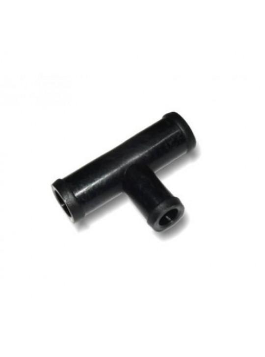 Тройник тосольный D16xD16xD16 (пластик)