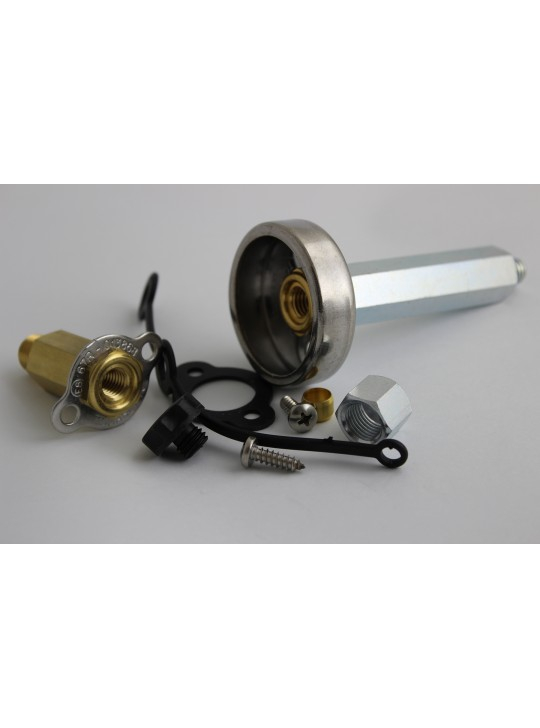ВЗУ для установки в бензо-заправочный люк, удлиненный Tomasetto